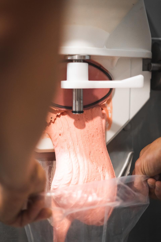 sorbet fraise artisanal