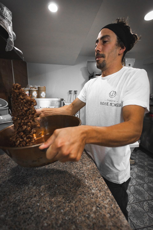 preparation noisette caramélisée