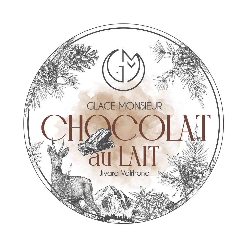 glace chocolat au lait glacerie madame monsieur