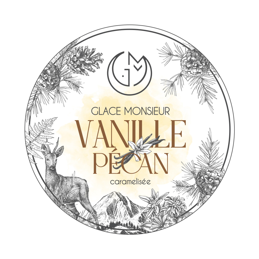 glace vanille pecan glacerie madame monsieur