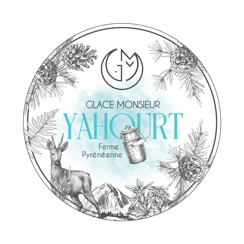 glace yahourt glacerie madame monsieur