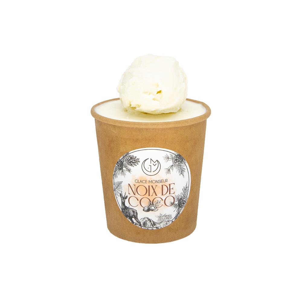 glace noix de coco glacerie madame monsieur