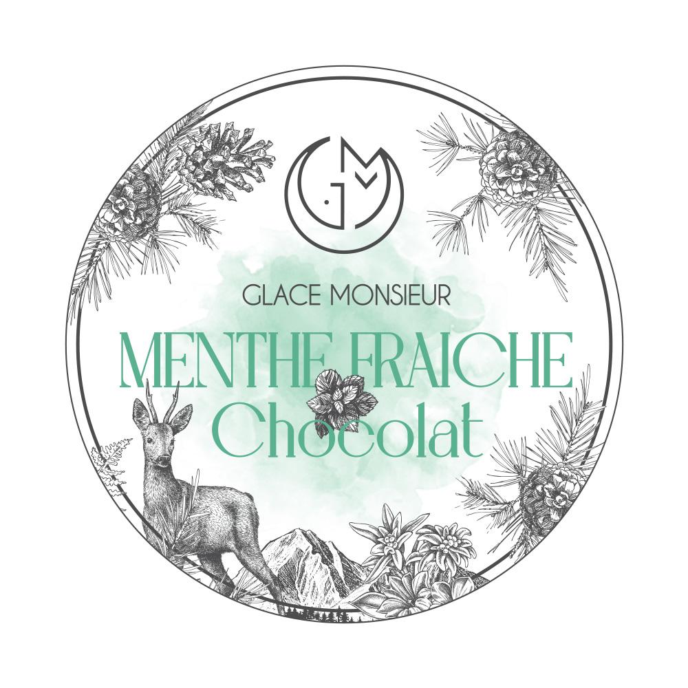 glace menthe fraiche chocolat glacerie madame monsieur